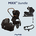 Nuna Mixx Bundle 1 (pushchair, carrycot, car seat, base)