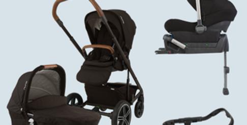 Nuna Mixx Bundle 1 (pushchair, carrycot, car seat, base)