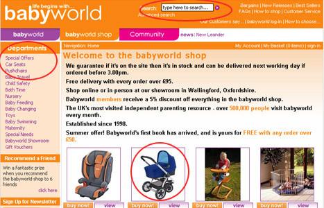 babyworld shop