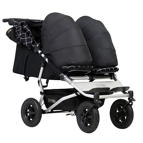 Mountain Buggy Duet Pushchair 3.0 Plus 2 x Soft Carrycots