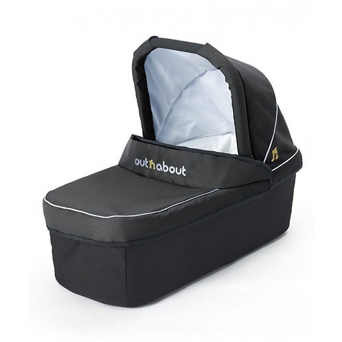 Out N About Nipper Double Carrycot - Black