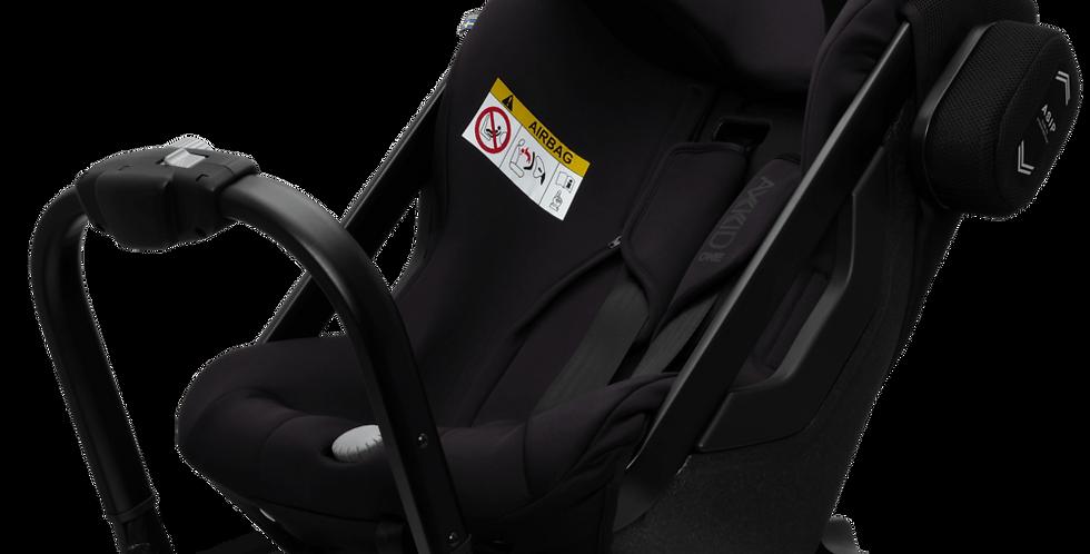 Axkid One Plus Car Seat - Tar - 3 quarter