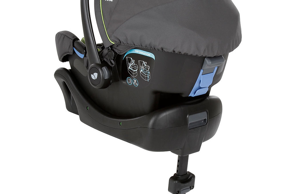 Joie Juva Car Seat Plus ClickFit Base - Black Ink