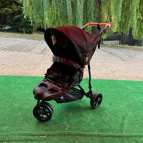 Out n' About Little Nipper Single Pushchair Black - EX DISPLAY
