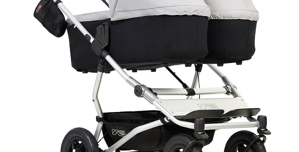Mountain Buggy Duet Carry Cot Plus Twin Pack