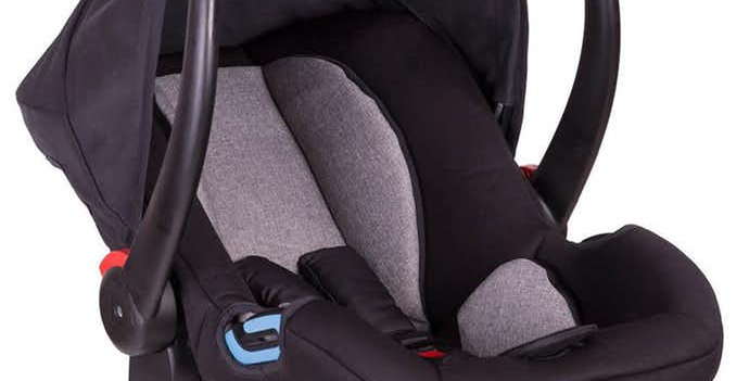 Phil and Teds Alpha Car Seat - Reversible Black