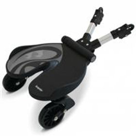 Bump Rider - Stand-on Buggy Board - Grey Black