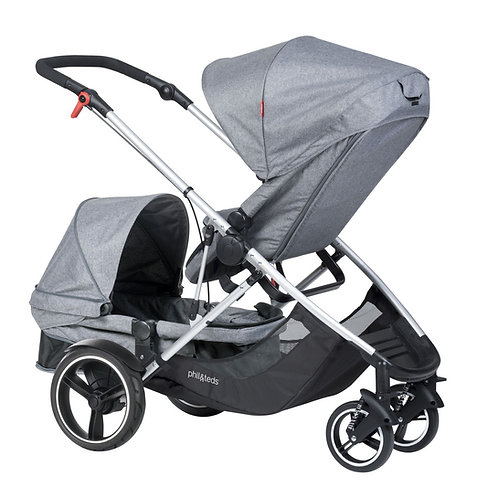 Phil and Teds Voyager Double Pushchair - Ex Display