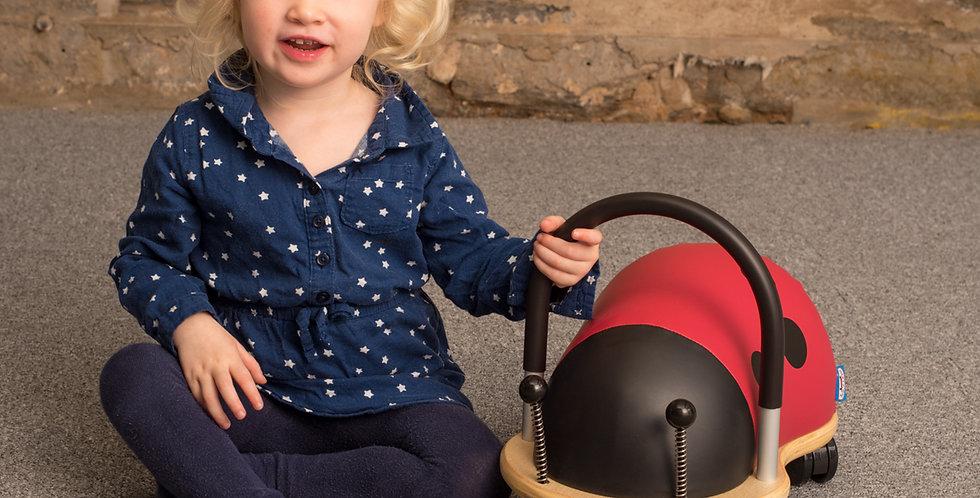Hippychick Wheely Bug Ride on Ladybird - Small