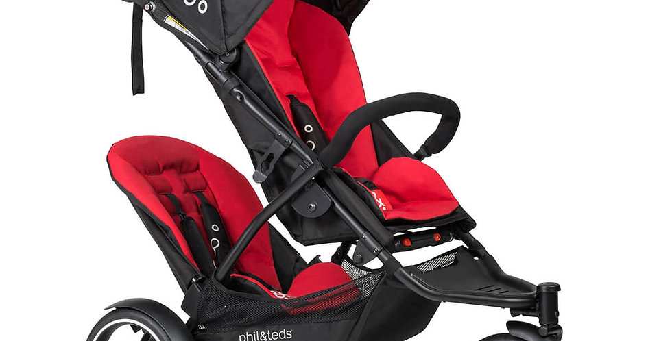 Phil and Teds Dot V3 Pushchair with Double Kit