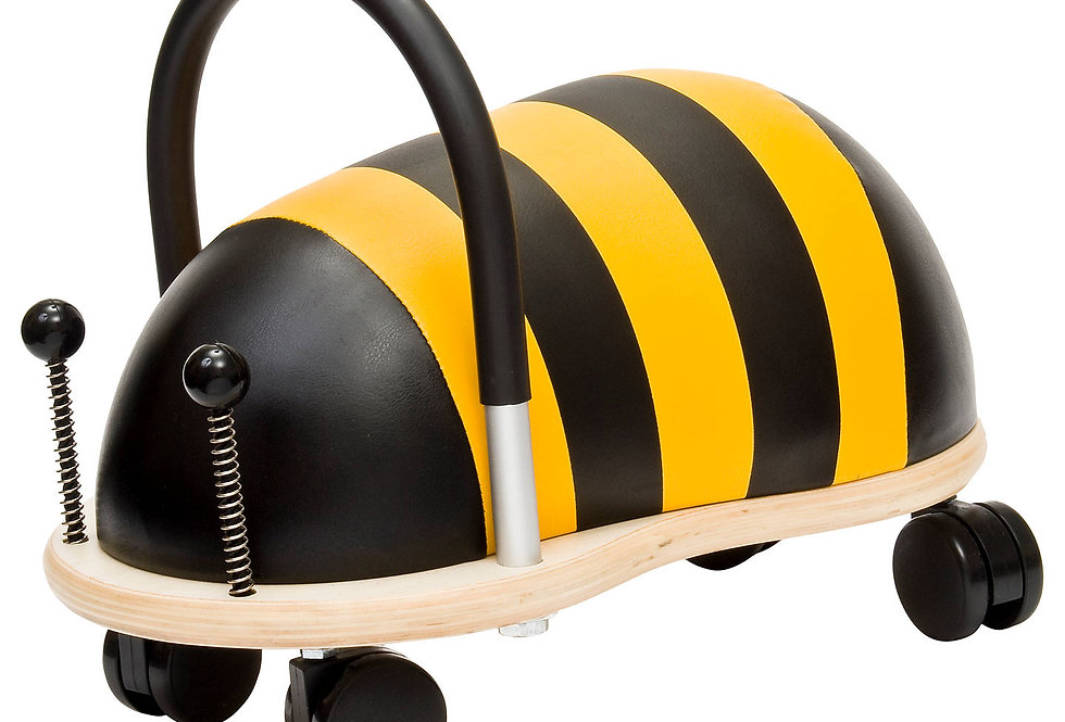 Hippychick Wheely Bug Ride on Bumble Bee - Small
