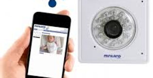 Miniland Baby - Everywhere IP Digital Smartphone Baby Monitor