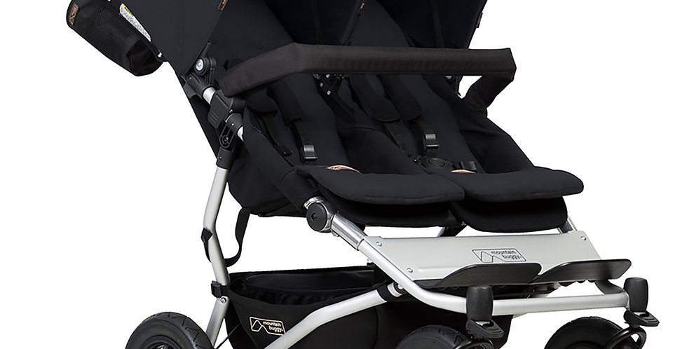 Mountain Buggy Duet V3 Twin Pushchair with Family Pack