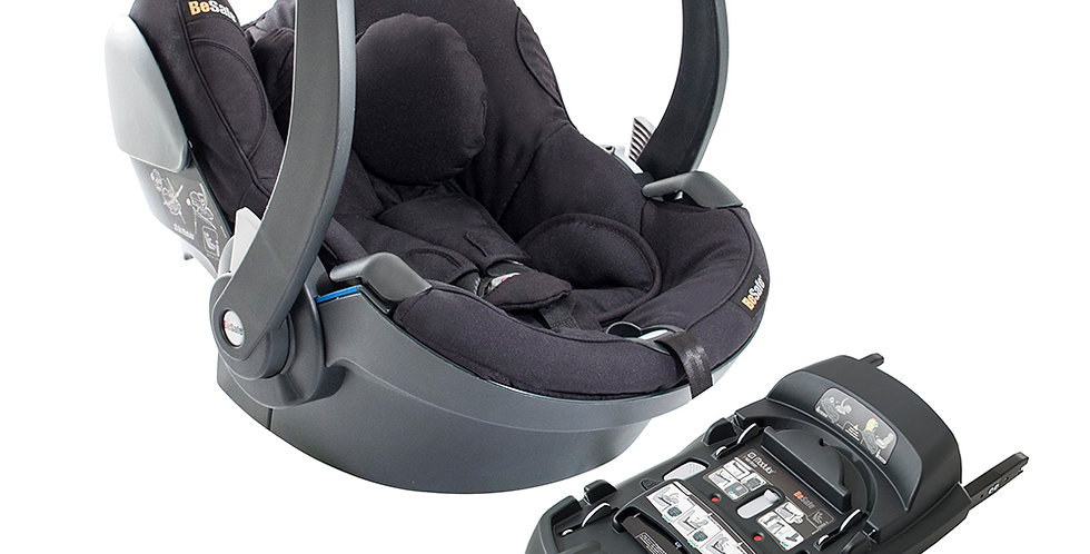 BeSafe Izi Go Modular X1 Car Seat Plus Isofix Base - Black Cab