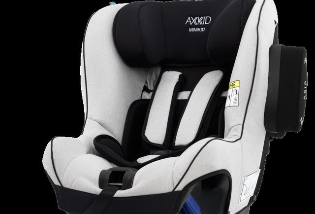 Axkid Minikid 2.0 Rear Facing Car Seat Premium Sky Grey