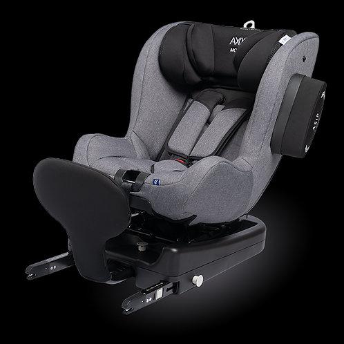 Axkid Modukid Isize Isofix Car Seat Plus Isofix Base Grey