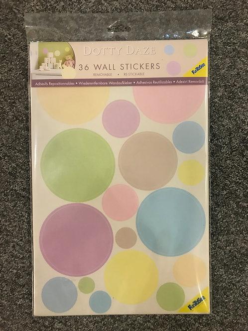 Fun to See Mini Wall Art Stickers - Dotty Daze