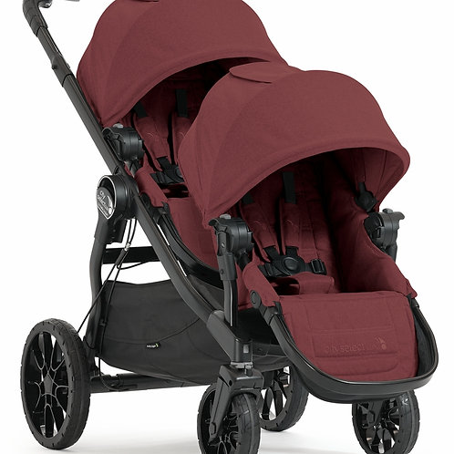 Baby Jogger City Select Lux Pushchair with Second Seat - Port