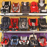 Showroom car seats