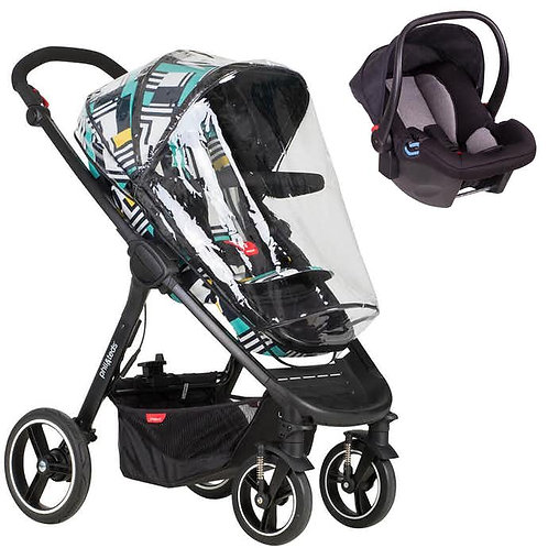 Phil and Teds Mod Travel System Bundle