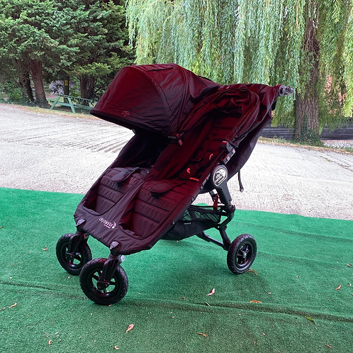 Baby Jogger City Mini GT Double Pushchair Black - EX DISPLAY