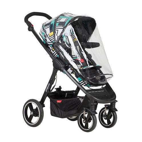 Phil and Teds Mod / Cosmospolitan Pushchair - Storm Cover