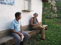 Isidro Zuniga and Ruth Bennett