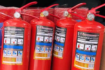 Первичные средства пожарротушения