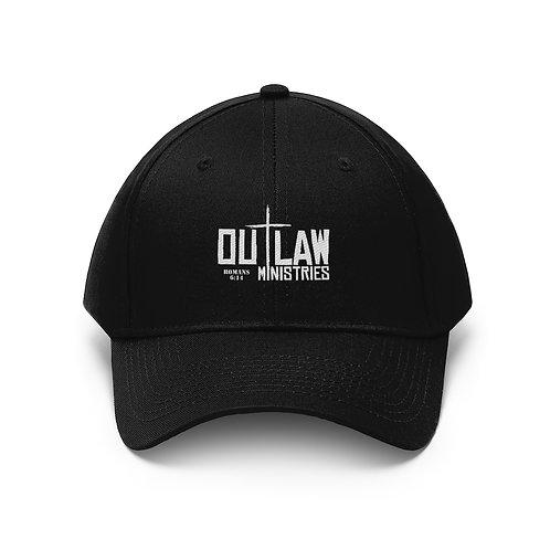 Outlaw Cross Logo Twill Hat