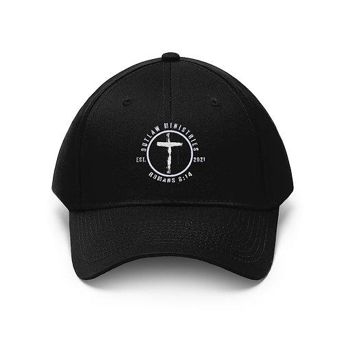 Outlaw Biker Logo Hat
