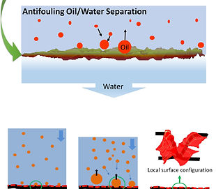 Ultrathin membranes for oil/water separation