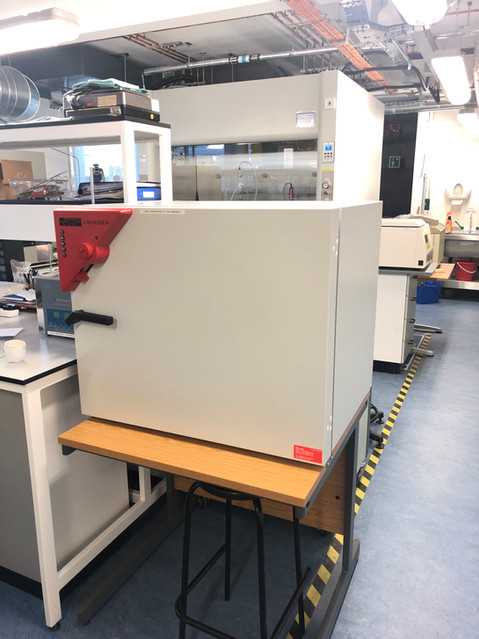 Binder Lab Incubator: Drying and heating chamber with forced convection