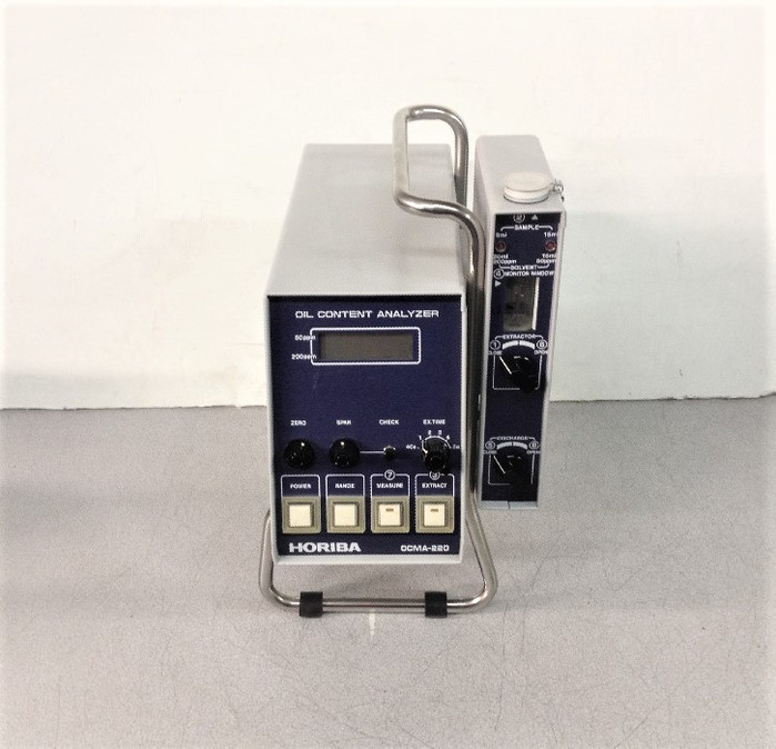 Horiba Ocma-220 Portable Oil Content Analayzer