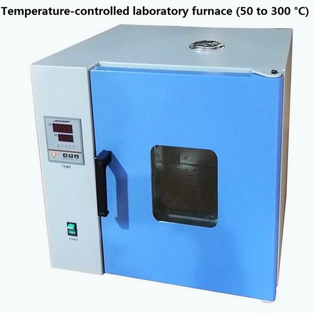 Temperature-controlled laboratory furnac