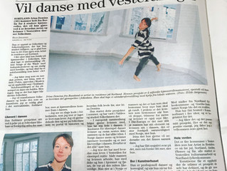 "interview with Irina Demina for ""Bladet Vesteralen"""