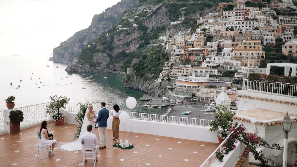 Weddings in Marincanto Romantic Hotel Positano