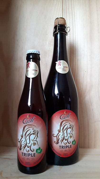 Copie de Bière CATH triple 0.75cl