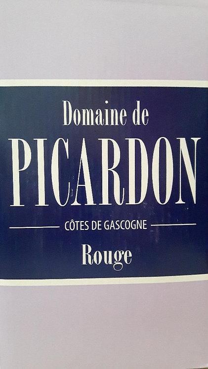 BIB PICARDON rouge - Côtes de Gascogne IGP 5 litres