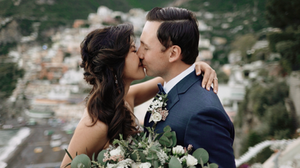 Kiss in Positano Wedding Videography Positano