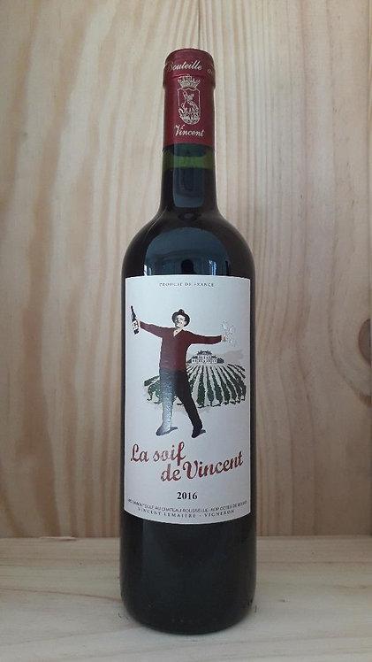 LA SOIF DE VINCENT 2016 - Côtes de Bourg