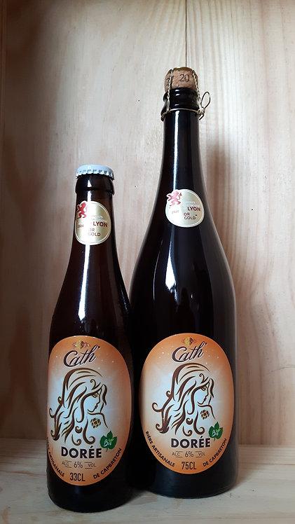 Bière CATH dorée 0.33cl