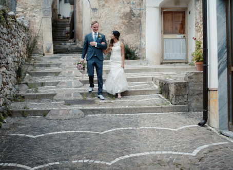 An Amazing Destination Wedding in Giungano, Italy.
