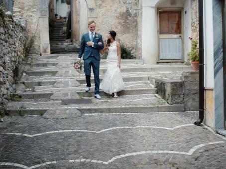 An Amazing Destination Wedding in Giungano, Italy.