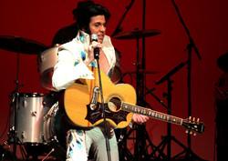 Matt Cage as 70s Elvis