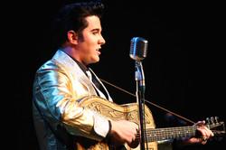 Matt Cage as 50s Elvis