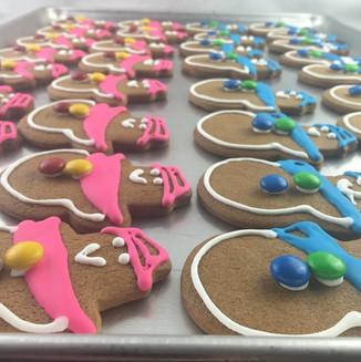 Snow People Cookies