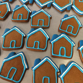 House Gingerbread Cookie