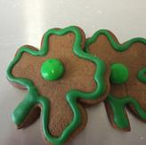 Clover Gingerbread Cookie