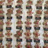 Ironman Gingerbread Cookies