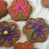 Gingerbread Flowers